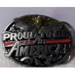 Belt Buckle Proud To Be An American