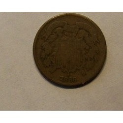 Two-Cents  Piece 2 Cents Coin 1868