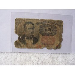 United States Fractional 10c Currency