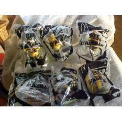 McDonalds BEE MOVIE Characters Lot of 6 ~ still Sealed in bags