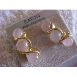 EATON's Semi Precious Quartz Stone Post Earrings