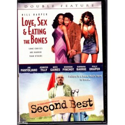Love, Sex & Eating The Bones, & Second Best DVD 2007 - Brand New