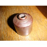 Antique Stoneware  Ink Well  Brown Bottle