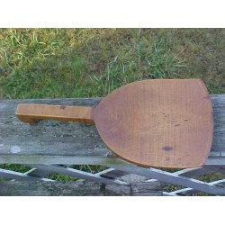 Antique Birdseye Maple Butter Paddle Large 10""